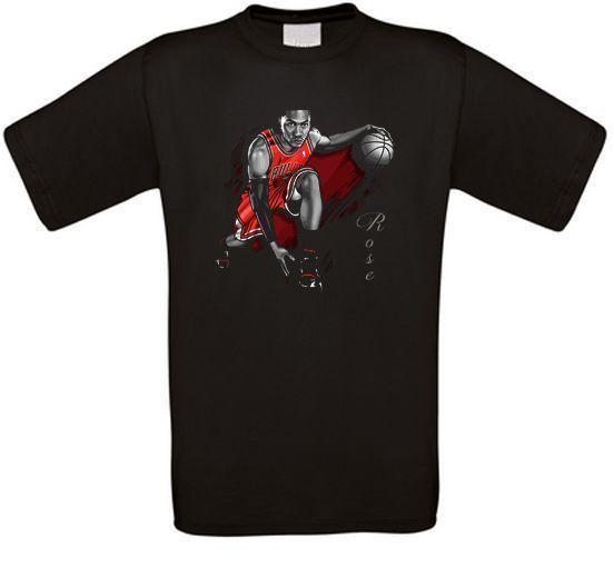 d296a4c44ef Derrick Rose Bulls Basketball T Shirt ALL SIZES NEW T Shirt Shop ...
