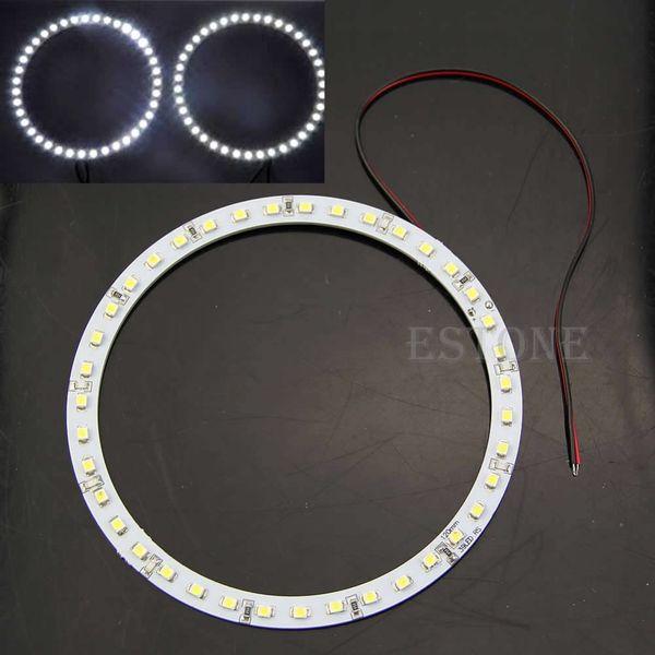 1 paire 12V 120mm 1210/3528 39LED voiture ange yeux halo anneau lumière phare lumière blanche