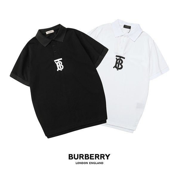 Men Women Polos Tops 2019 Brand Fashion Men Casual Polo Shirts Summer New Arrival Short Sleeve Clothes with Letter High Quality Men Tees