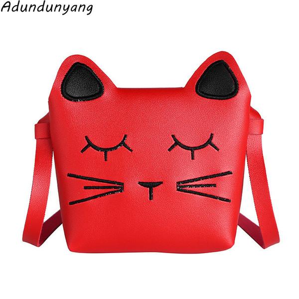 Cheap Cute cat Children Handbag Girls Bags Fashion Baby Fur Shoulder Bags Candy Coin Purse Wallet Toddler Bowknot Bags