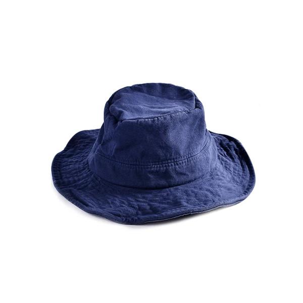 New arrival Hat women plain flat top fisherman hat cotton material fashion personality Korean trend basin hat man