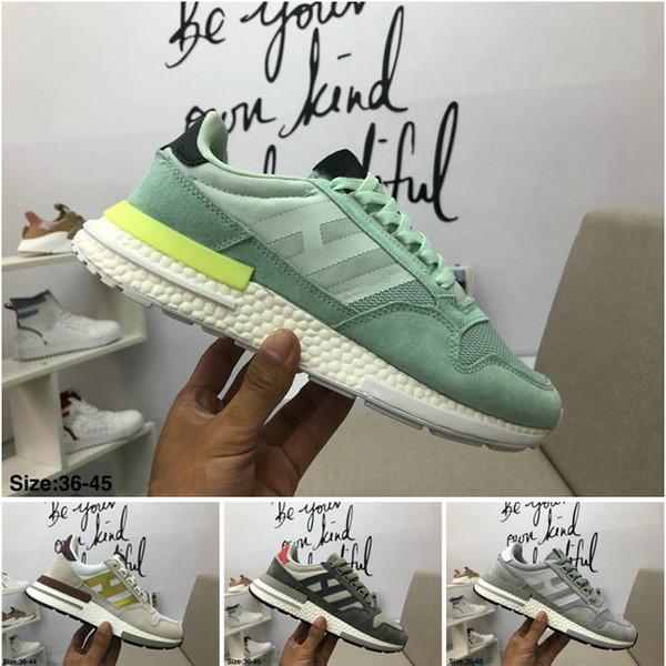 dbd0959e5b758 2018 New ZX 500 RM Goku Men Sneakers D97046 ZX500 OG The Dragon Ball Z Grey