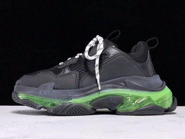 siyah, yeşil