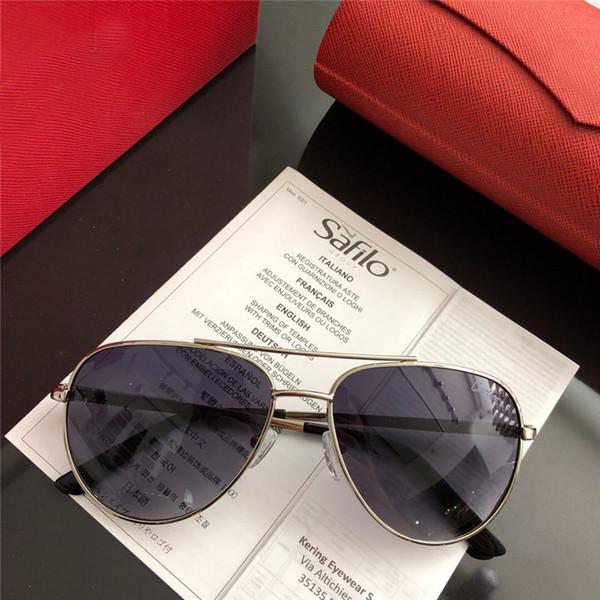 2018 woman vintage EYEGLASSES FRAMES WOOD SUNGLASSES Wood Half Rim Eyeglasses plated Santos Designer in Box numC181128-30