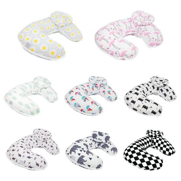 Baby Nursing Pillows Maternity Baby Breastfeeding Pillow Infant Cuddle U-Shaped Newbron Cotton Feeding Waist Cushion