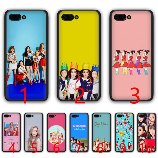 kpop Red Velvet music Soft Silicone Black TPU Phone Case for Huawei Honor 6A 7A Pro 7C 7X 8X 8 9 10 Lite