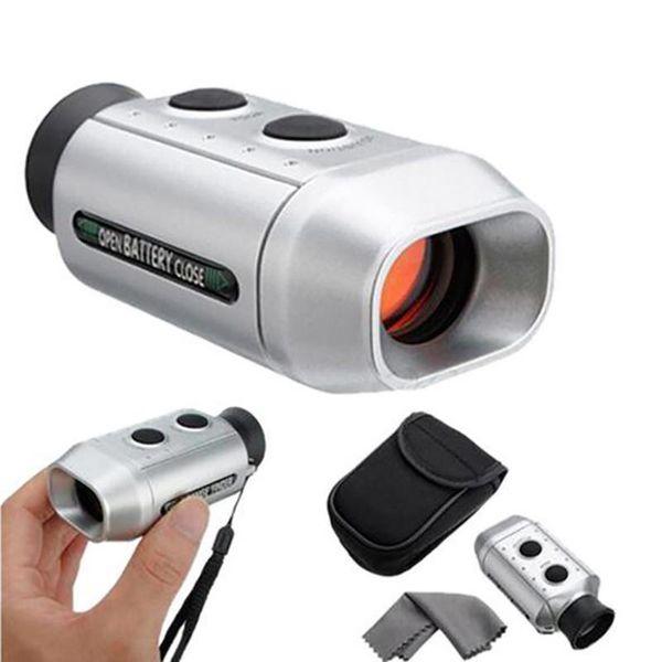 Portable 7X18 Digital Golf Range Finder Golfcope Scope Telemetro Golf Diastimeter Leggero Caccia Distanza Range Finder
