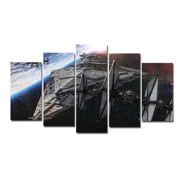Satın Al 5 Adet Kombinasyonları Hd Fantasy Uzay Gemisi Uzay Aracı