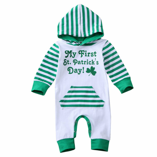 Infant Baby Boy Hooded Short//Long Sleeve Romper Jumpsuit Playsuit Outfit Suits
