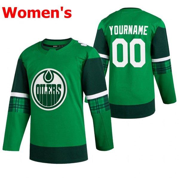 Womens Green 2020 St. Patrick # 039;