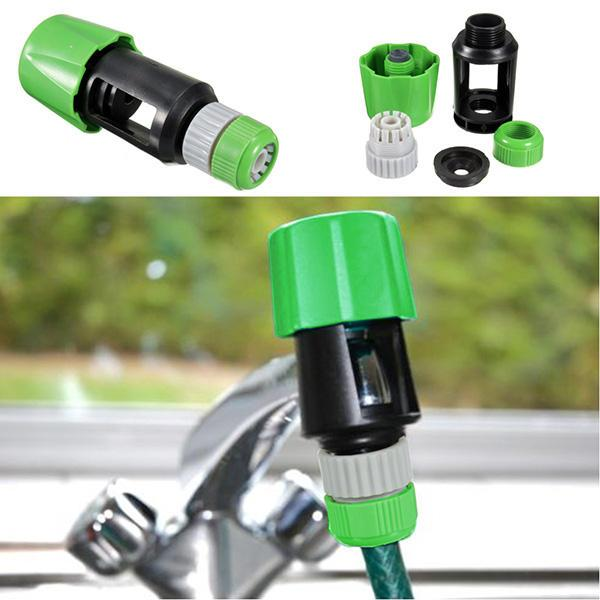 top popular Universal Hose Tap Pipe Connector Mixer Garden Watering Equipment ToolSuitable for a maximum width of 19mm and a tap height of 30mm 2021