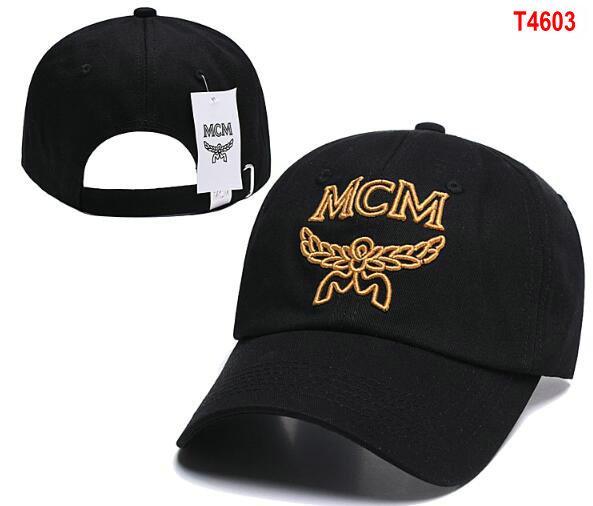 Дизайнер бейсболки роскошные мужские поло MC M Hat Gold Вышитые кости Мужчины Женщины casquette Sun Hat gorras Sport Cap бесплатная доставка