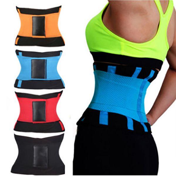 Body Shapers che dimagrisce cintura per fitness unisex vita cincher trimmer tummy lattice vita trainer uomo donna dopo il parto corsetto shapewear hh9-2200