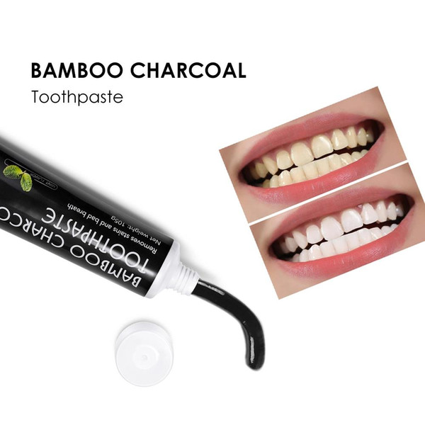 top popular Activated Bamboo Charcoal Toothpaste Natural Fresh Teeth Whitening Toothpaste 2021