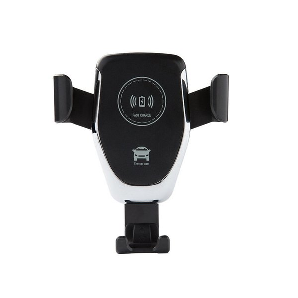 Support de voiture Chargeur 10W Qi sans fil pour iPhone XS Max XR 8 Rapide Charge Rapide Sans Fil De Charge Pad Support De Voiture Support