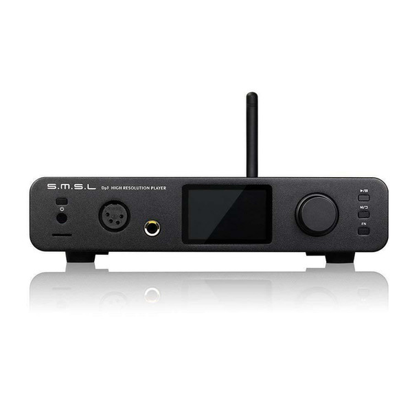 SMSL DP3 Digitalverstärker Balanced DAC Bluetooth USB AES Eingänge Kopfhörerverstärker