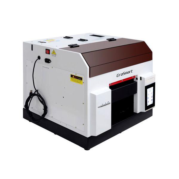EraSmart Ultraviolet Screen A4 UV Flatbed Printer Mini UV Printer Digital Photo Label Print Machine Mobile Cover Printing Machine
