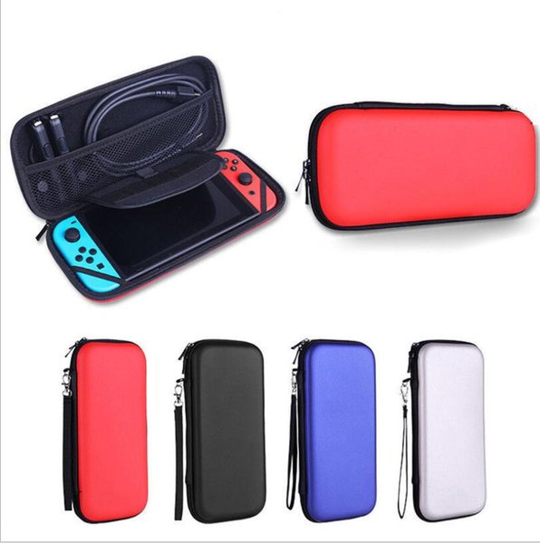 top popular Carry Case Box with Handle for Nintendo Switch Console Game Hard Protective Bag EVA Protective Hard Case Travel Carrying case 2019