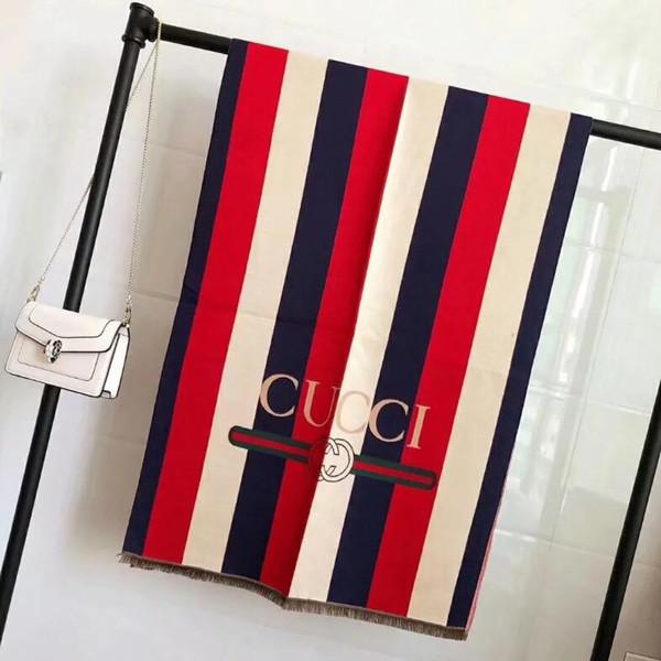 New Winter Luxus Kaschmir Schals High-End-Klassiker Marke modische Männer und Frauen große Schals 180 * 70 No Box