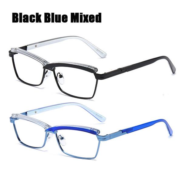 Siyah Mavi Karışık