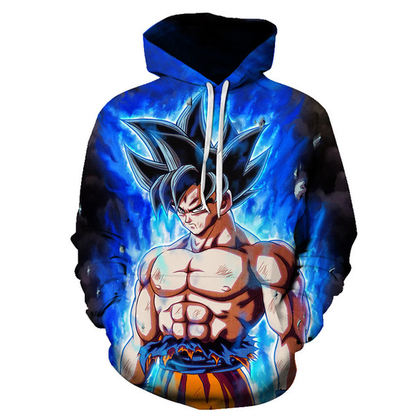 Dragon Ball Z 3D Hoodie Sweatshirts Men Women Hoodie Muscle Anime Fashion Casual Tracksuits Boy Jackets Hooded Pullover SON GOKU