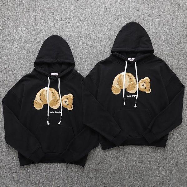 2019 Palm Angels Hoodies Men Women Flocking Bear Streetwear Casual Sweatshirts Men Fashion Palm Angels Hoodie Pullover From Nibo5, $35.63 | DHgate.Com