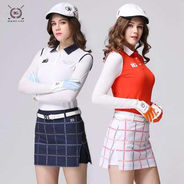 Jupes de golf de marque sportswear femme jupe courte golf jupe culotte jupe à carreaux élastique 3 couleurs bleu marine