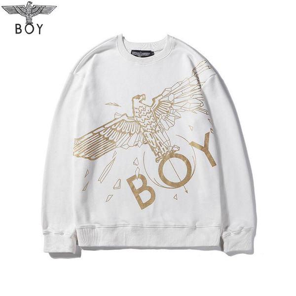 2019 мужской свитер пуловер мужчины марка Deisgner балахон с длинным рукавом дизайнер толстовка письмо вышивка трикотаж зимняя одежда