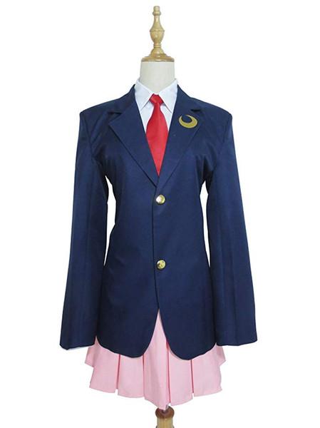 Touhou Project Reisen Udongein Inaba School Uniform Dress Cosplay Costume