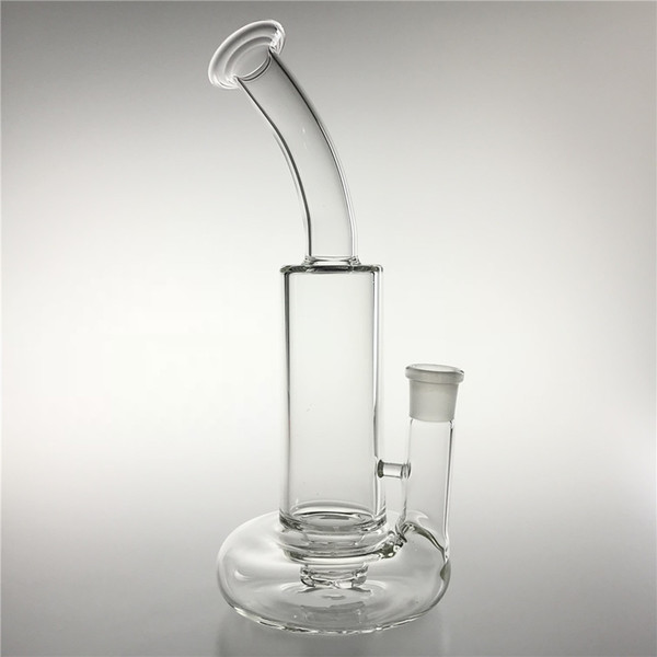 New 10.6 Inch Tornado Bong Glass Water Pipes with 14mm Female Big Cyclone Filter Disc Base Beaker Bongs for Oil Rigs Smoking