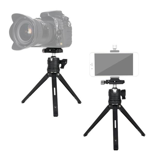 Top Desktop Mini Stativ Aluminium für Kamera mit DSLR SLR mit Gradienter