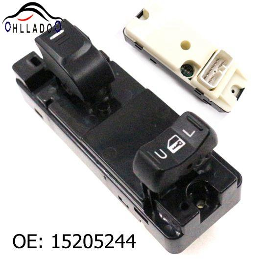 top popular HLLADO New Front Right Window Lifter Switch 15205244 Power Window Switch For C hevrolet Colorado G M C Canyon H3 i-370 i-350 2021