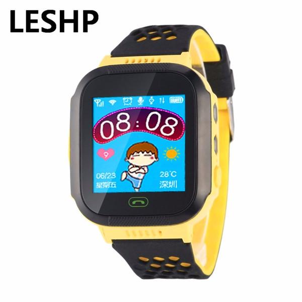 Nuovo Y03 Smart Watch Touch Screen GPRS Localizzatore Tracker Anti-Lost Smartwatch Baby Watch con Remote Camera SIM chiama per KIDS