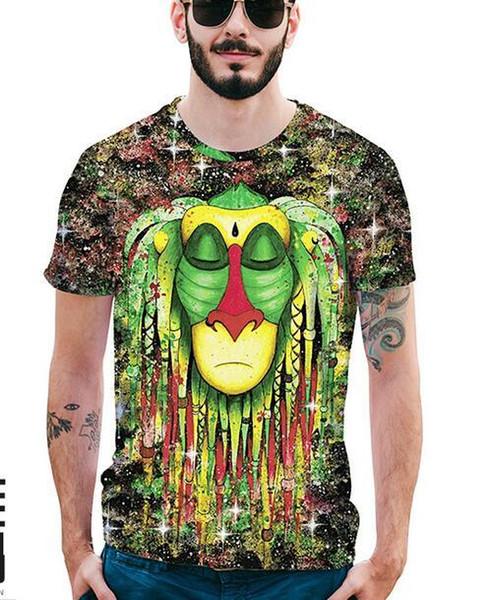 Qq novo 2018Luxury tees Mens Designer T Shirt dos homens de Impressão de Moda tshirts Verão de Manga Curta de Algodão Tops Casual Marca Hip Hop T-shirt