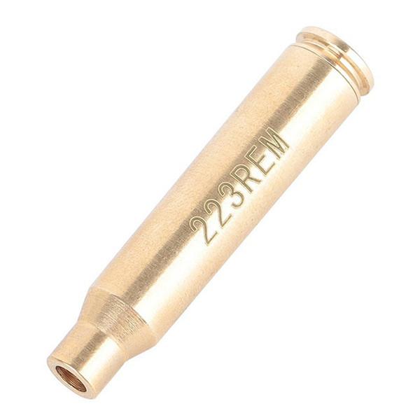 Hohe Qualität Red Laser Dot 223 Schussprüfer REM Messing Laser Bore Sight Für Jagd Jagd Werkzeug Zubehör Goldene