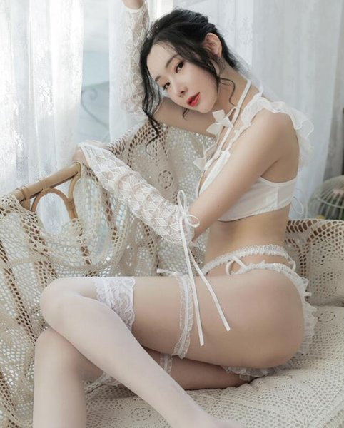 White&Silk stockings