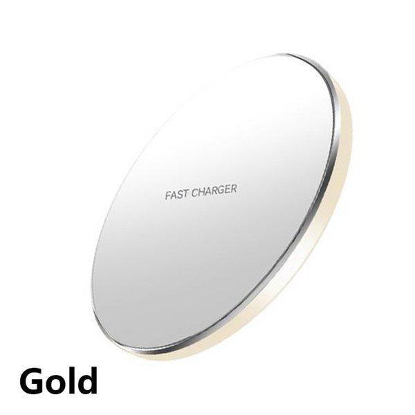 Chargeur sans fil d'or