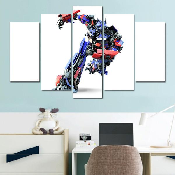 Acheter Combinaisons Hd Fantasy Cool Transformateur De Courant Encadré Toile Peinture Décoration Murale Imprimé Peinture à L Huile Affiche De 23 0 Du