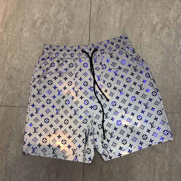 2019 мужская мода шорты пляж серфинг брюки плавательные шорты быстросохнущие беговые брюки печатные камуфляжные брюки шорты