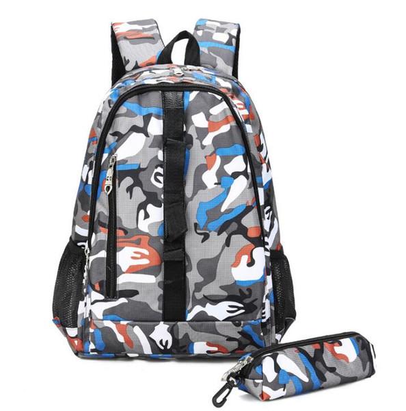2019 neue 2 in 1 Art und Weise Tarnung Rucksack wasserdichten Outdoor-Reiserucksack für Studenten Tasche