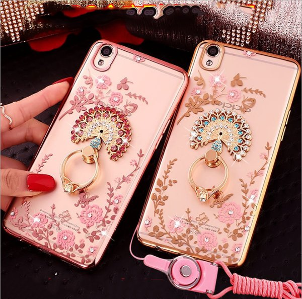 2019 New OPPO R11S mobile phone shell R11plus protective sheath transparent electroplated TPU secret garden F111reno mobile phone shell