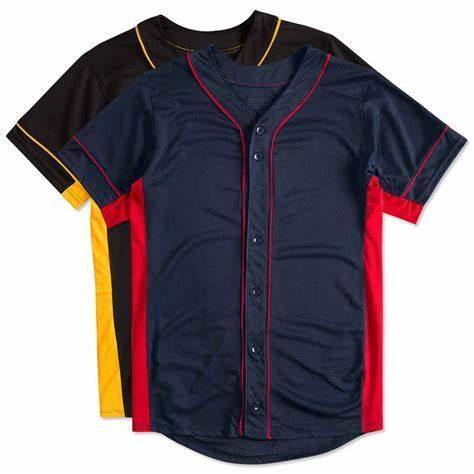 2019 Camo Custom New Men Young Baseball Jersey Semplici maglie ordinate Pullover Button Id 0007 a buon mercato