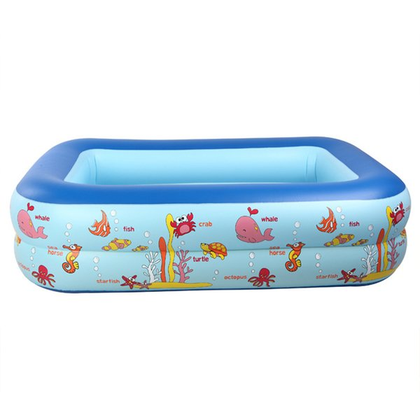 Inflatable Pool Baby Swimming Pool Piscina Portable Outdoor Children Basin Bathtub kids baby swimming Square Shpe