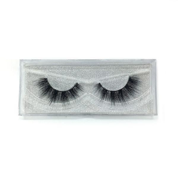 A16 The newest A pair of mink false eyelashes cross eyelashes thick hot sales false eyelash ripple silk eyelash