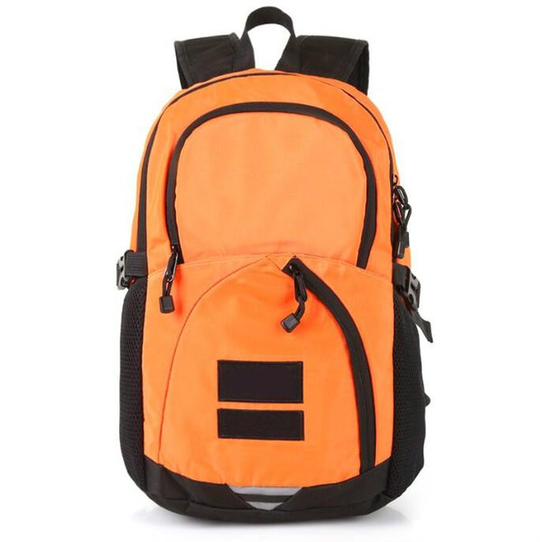 2019 Metal color backpack joint name snow mountain map deciduous backpack bag sports travel bag ins waterproof mens wallet