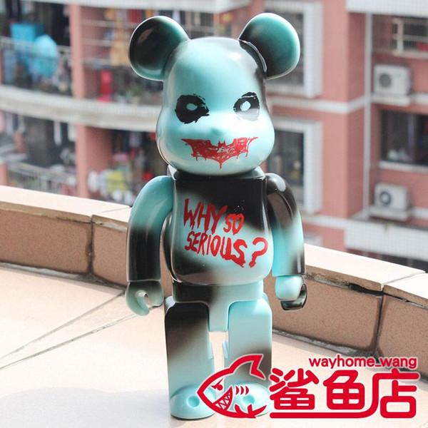 Nuovo 28cm 400% Bearbrick JOKER Batman Action Figure da collezione modello Hot Toys Compleanni regali della bambola nuovo Arrvial del PVC di trasporto