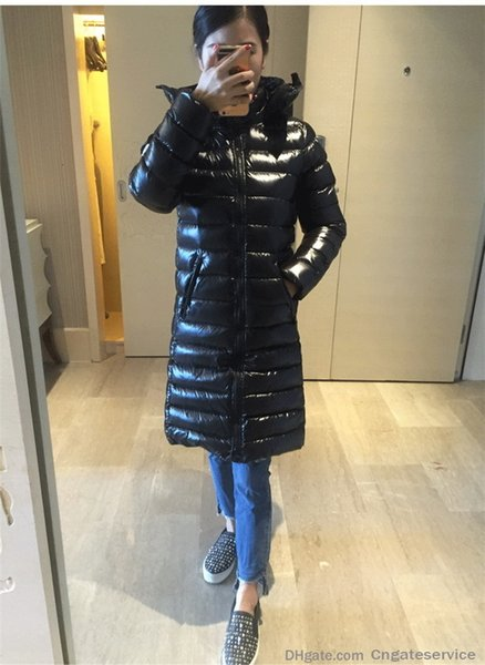 2019 New Women S Winter Long Down Jacket Moka Slim Slimming Thick Warm Down Coats Suyen Women Down Parkas