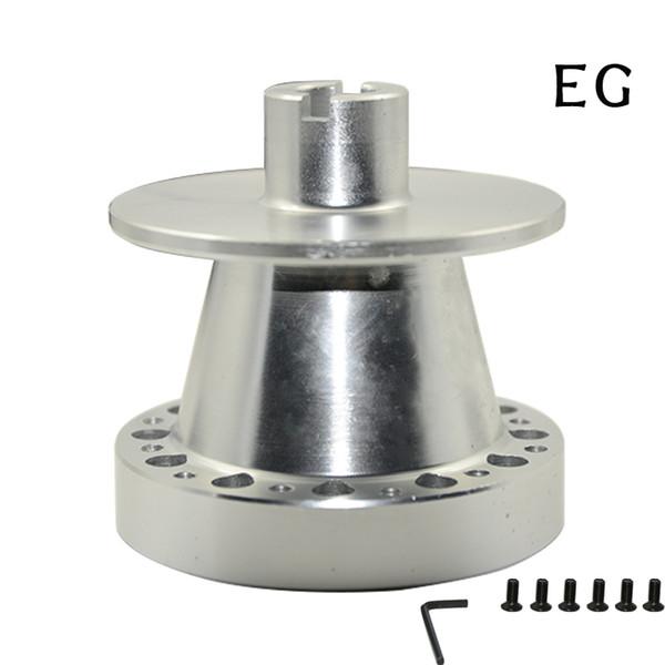 Aluminum Steering Wheel Hub Adapter Snap Off Boss Kit For EG