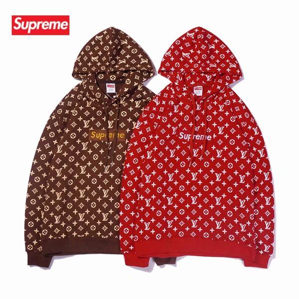 Fashion Luxus Hoodie Print Skateboard Harajuku Streetwear Männer und Frauen Hip Hoodie Sweater 01