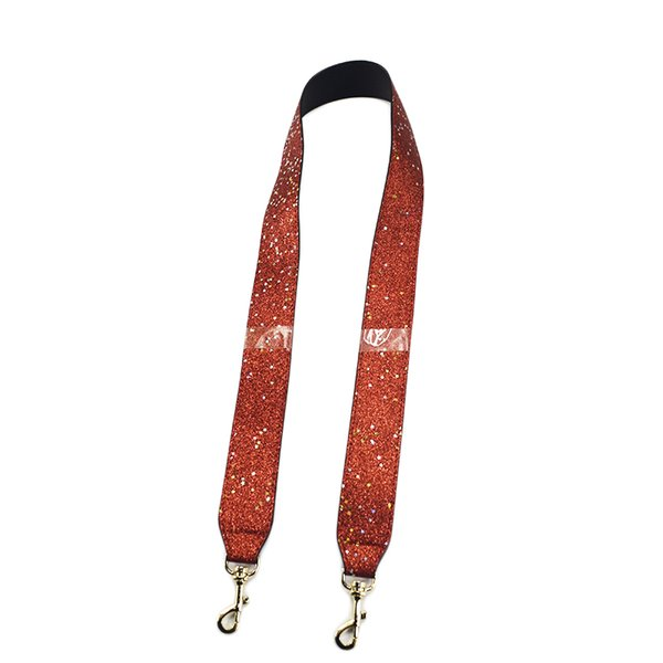 103cm Bag Strap Handbag Straps Replacement Parts Bag Belts Leather DIY Handles for Women Shoulder Bags Accessories Red Parts